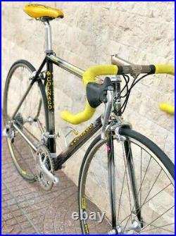 100km! COLNAGO MASTER BITITAN 1996 Campagnolo RECORD titanium 8s nos ct1 mapei