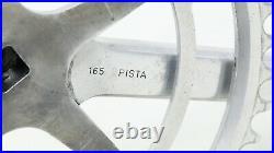 1958 CAMPAGNOLO RECORD PISTA TRACK CRANKSET 165mm VINTAGE SQUARE TAPER 50s BIKE