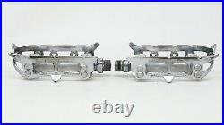 1958 CAMPAGNOLO RECORD QUILL PEDALS FIRST 1st GENERATION VINTAGE BIKE BICYCLE