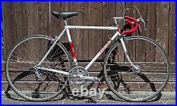 1967 POGLIAGHI ROAD BIKE 52X51cm VINTAGE STEEL Campagnolo Record Columbus Masi