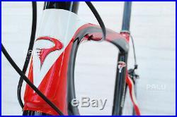 2010 Pinarello Prince 58 Road Bike Vision Wheels Carbon Fibre Campagnolo Record