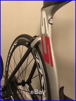 2014 Cervelo S5 Aero Road Bike 58cm Campagnolo Record 11 Mavic Cosmic SL