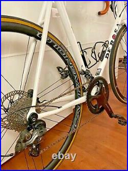 2019 DeRosa Corum road bike 56cm with Campagnolo Record Disc groups and wheels