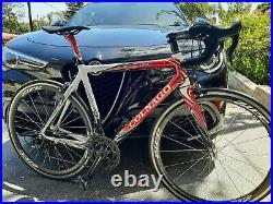 56cm Colnago EPS, Campagnolo Super Record 11, Zipp 303 wheels