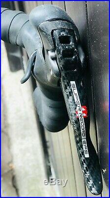 63 cm COLNAGO C50 CAMPAGNOLO SUPER RECORD EPS ELECTRONIC CARBON ROAD BIKE MAVIC