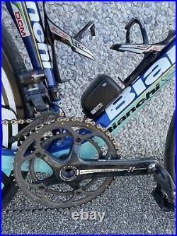 7,4 kg! Bianchi Oltre Carbon Rennrad Campagnolo Super Record EPS Roadbike