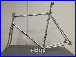 Alan frameset track bike vintage Campagnolo Super record 1980 55x55