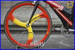 Battaglin Power + time trial Campagnolo Record VGC size L, Lo-pro TT Crono