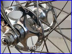 Bianchi Celeste Track Bike 57cm Campagnolo C-Record Pista Sheriff S Hubs #14