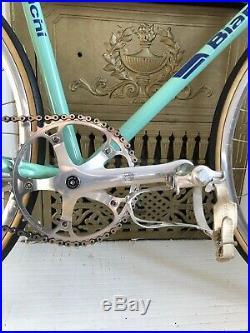 Bianchi Celeste Track Bike Campagnolo C-Record Pista Sheriff Star Hubs fixed