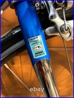 Bianchi Columbus Genius Campagnolo Record Titanium 8 speed Selle Italia Flite
