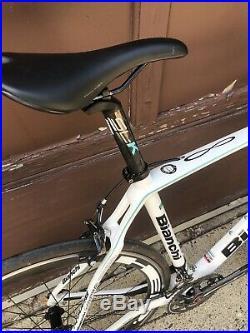 Bianchi Infinito CV Carbon Road Bike 59cm Campagnolo Super Record 11