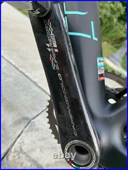 Bianchi Specialissima CV UL Carbon bike with Full Campagnolo Super Record RS 11S