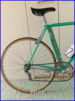 Bianchi Supercorsa vintage steel Road bike Campagnolo Super Record Pantographied
