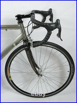 Bianchi Titanium MegaTube 52cm Campagnolo Record Titanium Road Racing Bike