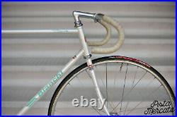 Bianchi pista Campagnolo nuovo record track italian steel bike Carolina Lüthi