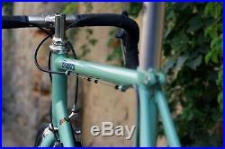 Bianchi racing bike 1996 campagnolo record 8v omas wheelset italian steel bike
