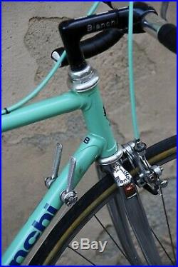 Bianchi specialissima x3 campagnolo super record italian steel bike classic 3t