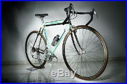 Bianchi x4 full campagnolo c record, cobalto brakes 53 / 53 slx