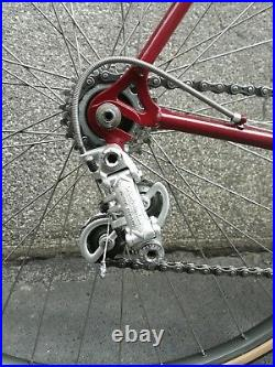 Bici corsa FRESCHI Campagnolo Nuovo Record 52 rara restauro epoca vintage
