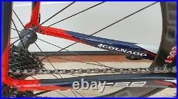 COLNAGO C59 ITALIA road bike size 54s CAMPAGNOLO SUPER RECORD 11 sp BORA