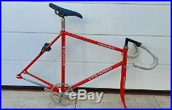 COLNAGO ESAMEXICO PISTA #2 vintage italian steel track bike CAMPAGNOLO C-RECORD