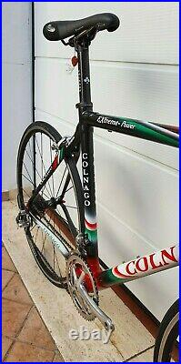 COLNAGO Extreme Power italian carbon road bike size 52s CAMPAGNOLO RECORD MINT