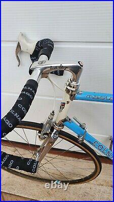 COLNAGO MASTER GILCO vintage italian steel road bike CAMPAGNOLO C-RECORD