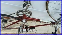 COLNAGO SUPER vintage italian steel road bike CAMPAGNOLO RECORD
