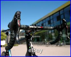 COLNAGO V2R TEAM GAZPROM lightweight bike CAMPAGNOLO SUPER-RECORD EPS 12s 56s