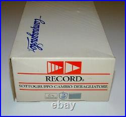 Campagnolo C Record Century Derailleur Set Nos Nib Very Rare 1991 With Papers