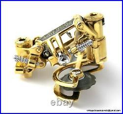 Campagnolo Nuovo Record Rear Mech Gear Derailleur Gold Plated Luxury Bike