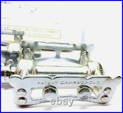 Campagnolo Pista Silver Vintage Track Pedals Bicycle NOS Campy Record