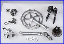 Campagnolo Record 10 Speed carbon group set 39 52 crank build kit road bike