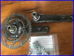 Campagnolo Record 11-Speed SRM PowerMeter 50/34T 172.5mm Crankset Bike