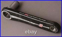 Campagnolo Record Carbon Road Bike UT Crankset 172.5 USB Ceramic Bearings NOS