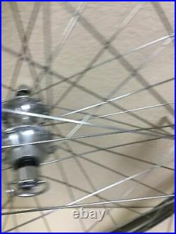Campagnolo Record Strada Wheelset 700c C-record Hubs And Skewers Tubular 32h