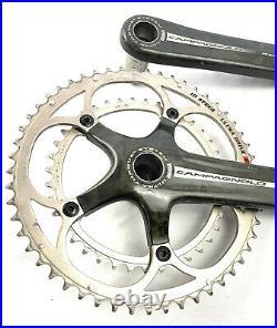 Campagnolo Record Ultra Torque Carbon Road Bike Crankset 172.5mm 53/39 Rings