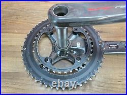 Campagnolo Super Record 12 170mm Carbon Crankset 52/36T 12-Speed Road Bike 633g