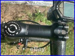 Cannondale Super Six Carbon Fiber Rode Bike Campagnolo Record w upgrades 54cm