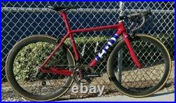 Carbon Fiber Road Bike withFull Campy Record, Power Meter and Carbin Wheels (50cm)