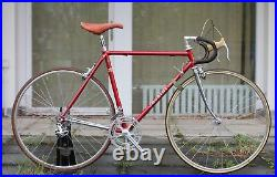 Chesini Columbus Campagnolo Super Record 3TTT Mavic 52 cm 1970ies Leather
