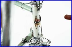 Ciclo Piave Campagnolo Record Steel Road Bike Vintage Lugs Old Ambrosio Champion