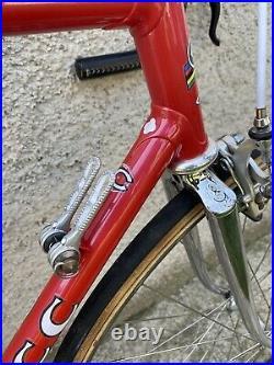 Ciöcc Aero 80s Columbus Record Campagnolo Super Record Crono Steel Vintage Bike