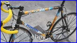 Colnago Carbon C40 Bicycle B-Stay Color geo Rare F Campagnolo Record 10s, 56cm