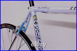 Colnago Technos 2000 Art Decor Road Bike 55c Campagnolo Record Ti 10 Speed Colum