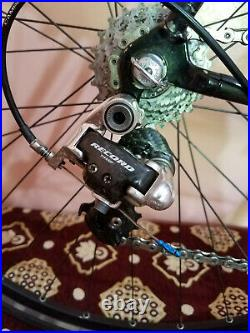 Colnago c40 art decor carbon road bike with campagnolo record 10 speed