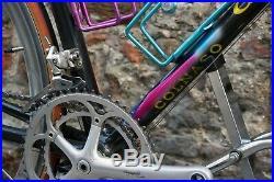 Colnago c40 campagnolo record 9v shamal 12 hpw vintage italian bike