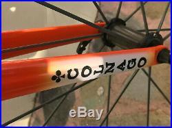 Colnago c59 road bike 58 traditional / campagnolo super record 11sp