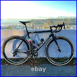 Colnago c60 size 52s Group Set Campagnolo Record 11 speed 2016